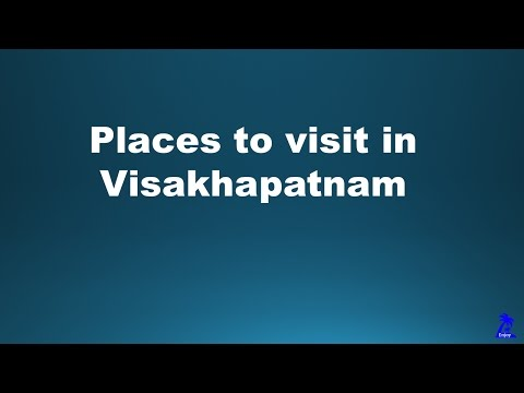 Places to visit in Visakhapatnam