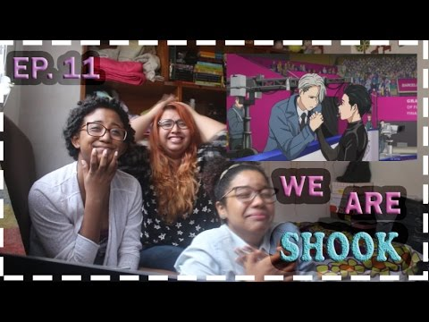 END WHAT??? - Yuri!!! on Ice Ep. 11 Reaction Highlights (w/ eng subs) | trashyreaction