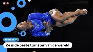 Gaat turnster Simone Biles op het WK sprongen laten zien die nog nooit iemand heeft gedaan?