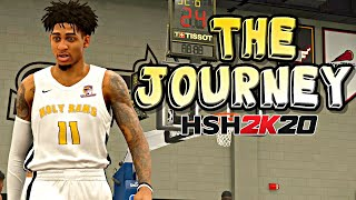 NBA 2K20 MyCAREER: The Journey #1 - FIRST HIGH SCHOOL GAME WITH THE HOLY RAMS!