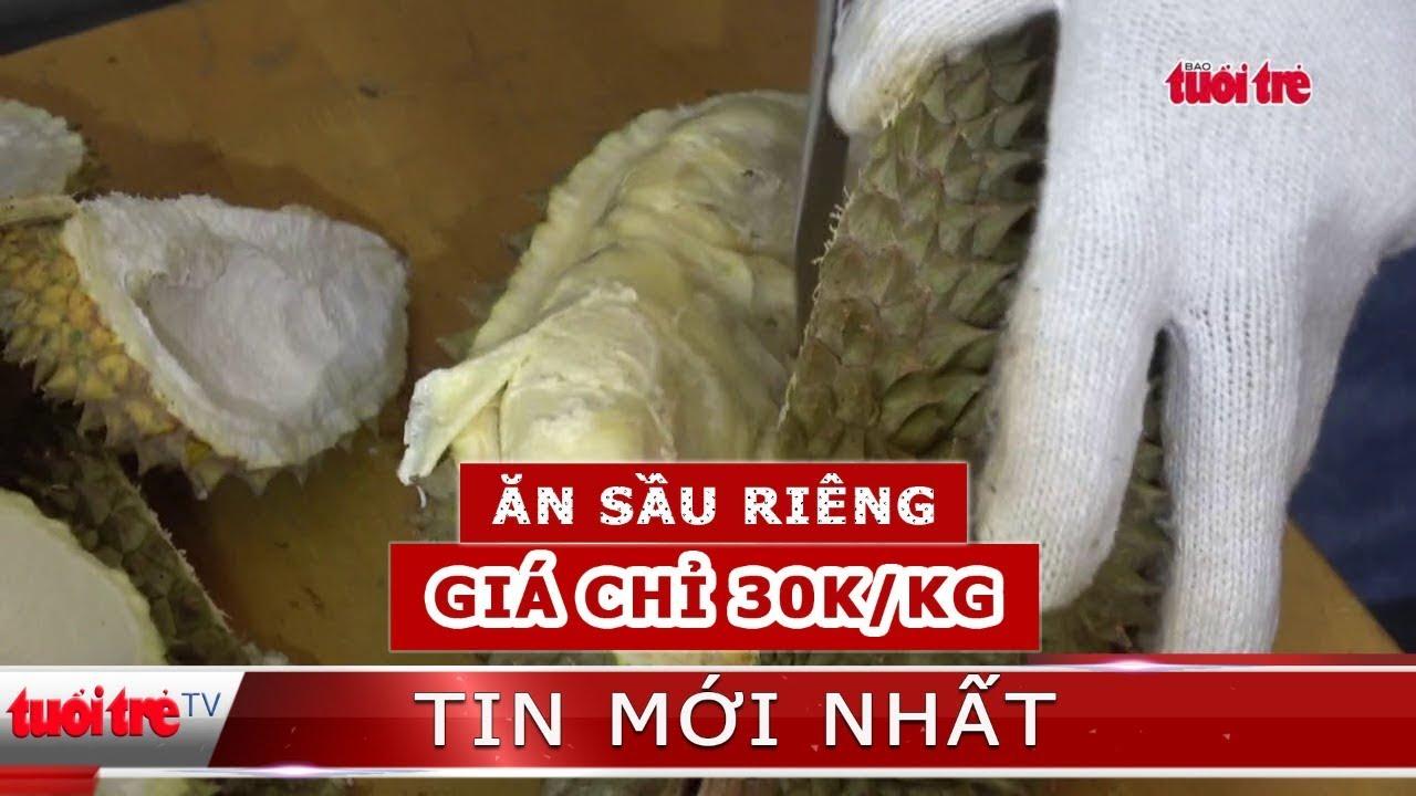 Rủ nhau đi ăn sầu riêng trả hạt chỉ 30 ngàn một ký tại TP.HCM