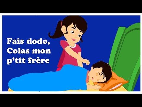 Fais dodo, Colas mon p'tit frère | Chanson enfantine | comptines françaises
