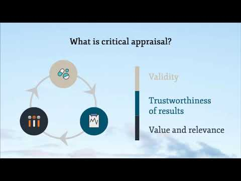 1.  Introduction to critical appraisal