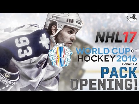 NHL 17 HUT: World Cup Pack Opening! LEGEND PULL! New Sets, Packs