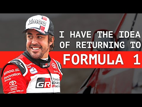 """Alonso """"I Feel Like an F1 Driver"""" - """"Our Car Was Not Good"""""""