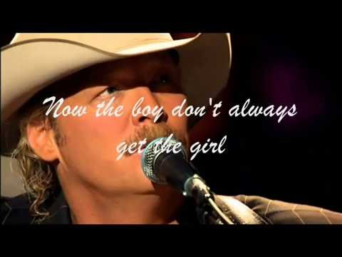 Alan Jackson-Here In the Real World( audio - lyrics )
