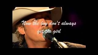 Alan Jackson   -   Here In the Real World  ( audio - lyrics )
