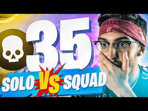 J'EXPLOSE MON RECORD ! ►TOP1 35KILLS SOLO vs SQUAD