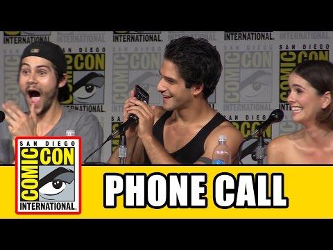 TEEN WOLF Cast Call Tyler Hoechlin Live At Comic Con!