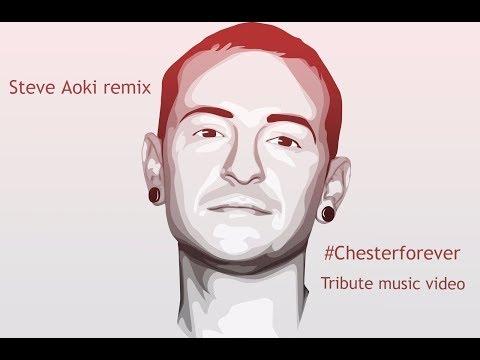 Steve Aoki - Darker Than The Light That Never Bleeds | Tribute to Chester
