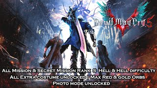 [PS4] Devil Macy Cry 5 | All Mission & Secret Mission Rank S - Hell & Hell | All Extra Unlocked Save