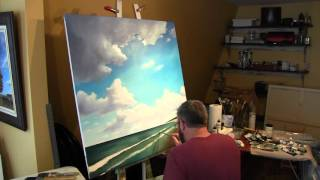 Time Lapse Painting (Summer Showers 2016 )