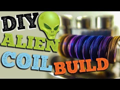 DIY Alien Clapton Coil Build | Tutorial