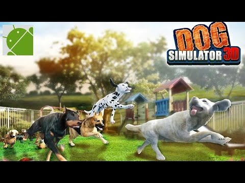 Dog simulator 3d games android gameplay hd youtube for Simulatore 3d