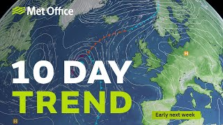 10 Day Trend – Dry and mild by day as we head into Spring