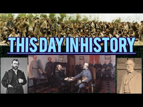 #Appomattox Courthouse VA -This Day In History April 9th