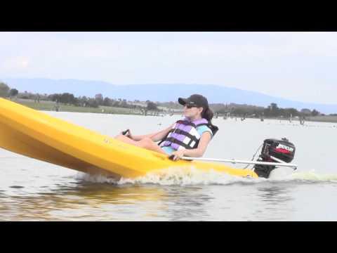 Powerkayak Kayak Motorizado - Motorized Outboard Motor Kayak