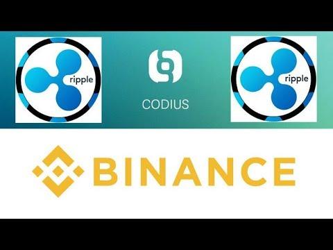 Ripple Codius Smart Contract Tool vs Ethereum - Binance Gets Malta Bank Account Fiat Pairing Soon!