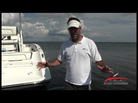 Yamaha Jet Boat FSH Minimum Mooring Depth