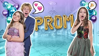 Surprising my CRUSH & BFF with DREAM PROM **Romantic Date**💋| Piper Rockelle