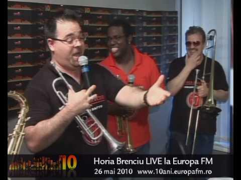 Horia Brenciu live in studioul Europa FM - Tarancuta, tarancuta