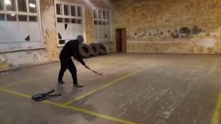 Сложно-координационное упражнение со стенкой... начало