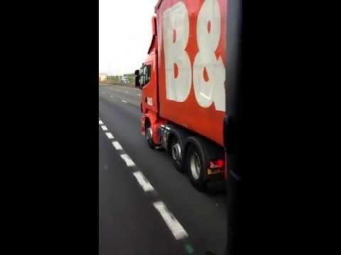 Rich's Scania on for B&Q