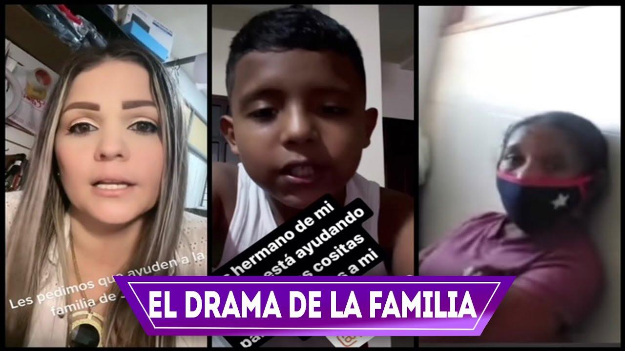 Madrina de Jackson Barreto pide ayuda para la Hermana y Madre del niño, están viviendo un drama