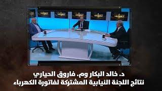 د. خالد البكار وم. فاروق الحياري - نتائج اللجنة النيابية المشتركة لفاتورة الكهرباء - نبض البلد