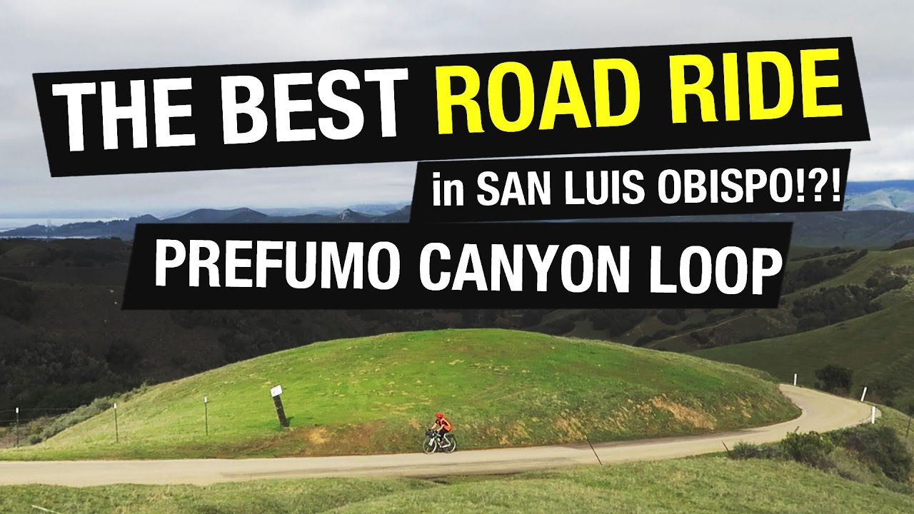 The Best Road Ride in San Luis Obispo?!? - YouTube