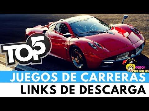 TOP 5 JUEGOS DE CARRERAS + LINKS - 동영상