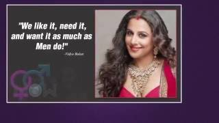 Bollywood celebrities talk about sex