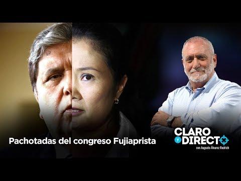 Pachotadas del congreso FujiAprista | Claro y Directo con Augusto Álvarez Rodrich