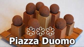 A pranzo al ristorante Piazza Duomo, 3 stelle Michelin