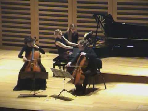 Xenia Jankovic, Christoph Richter and Nicola Eimer play Piatti Serenade