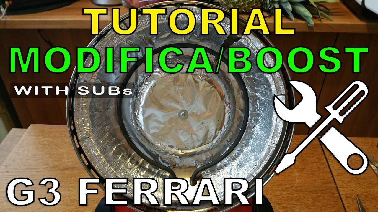 g3 ferrari delizia - tutorial mod m1 cupola e deflettore