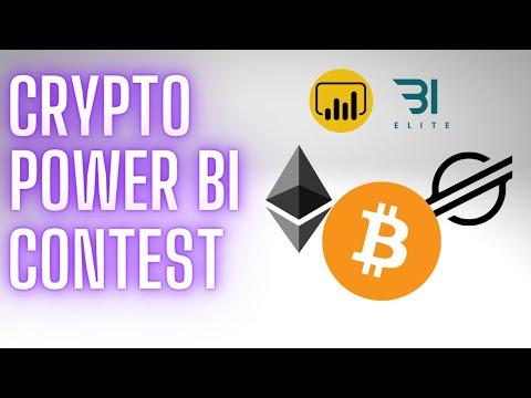 June 2021 Power BI Contest: Cryptocurrency Price Analysis