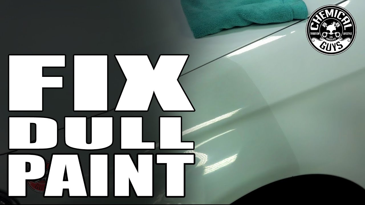 How To Make Dull White Paint Shine
