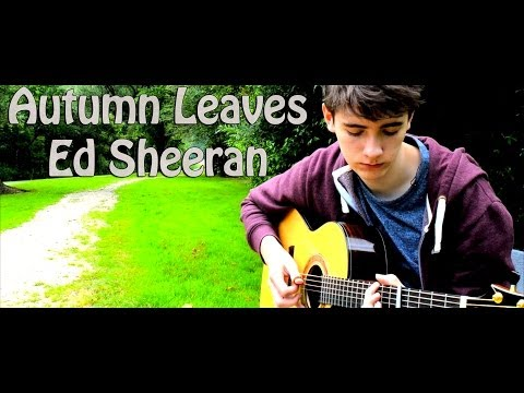 Autumn Leaves - Ed Sheeran - Fingerstyle Guitar Cover