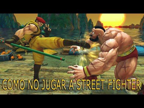Como no jugar al Ultra Street Fighter IV - DualYeray