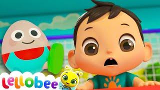 HUMPTY DUMPTY! | Lellobee  Nursery Rhymes & Baby Songs | Learning Videos For Kids