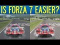 Is Forza 7 Really Easier Than Forza 6? Let's Investigate