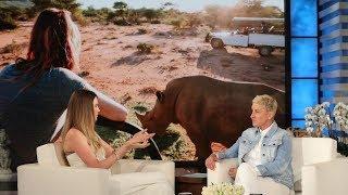 Behati Prinsloo Talks Saving the Rhinos in Namibia
