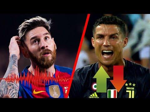No creerás en QUE LUGAR COLOCÓ Messi a CR7 entre los mejores del mundo