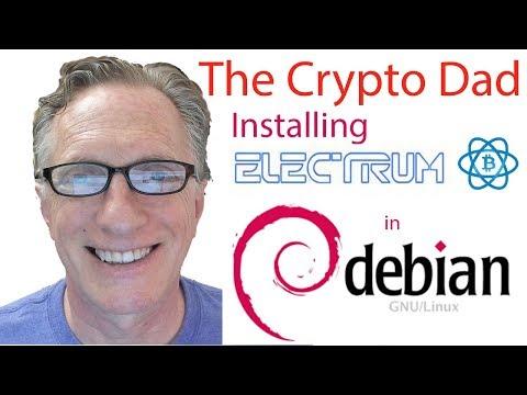 Installing The Electrum Bitcoin In Debian 9 (Stretch)