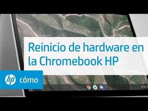 Reinicio de hardware en la Chromebook HP | HP Chromebook | HP
