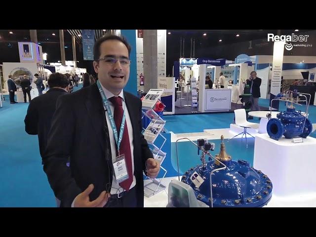 ConDor® · Controlador electrónico para válvulas hidráulicas · Andrés Ortega (Feria iWater BCN 2018)