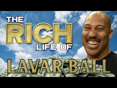 LAVAR BALL | The RICH Life | Forbes Net Worth | Big Baller Mansion, Rolls Royce & more...