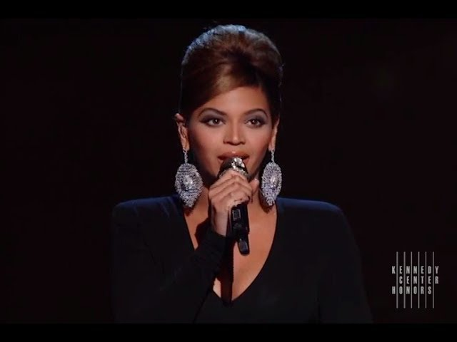 The Way We Were (Barbra Streisand Tribute) - Beyonce - 2008 Kennedy Center Honors #1
