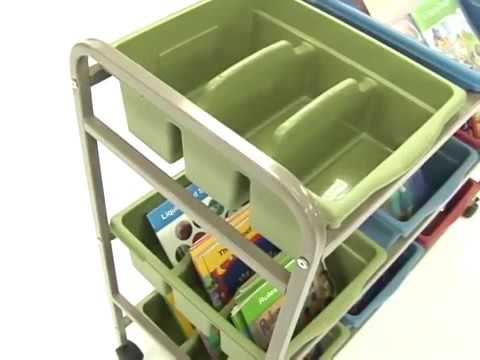 ECO Book Browser Cart   Leveled Reading Book Browser w-tub pack